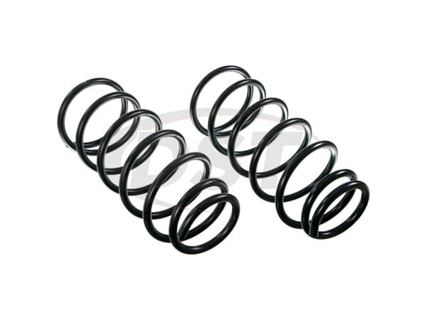 moog-81101 Rear Coil Springs - Pair - Constant Rate - RWD - 4 Door
