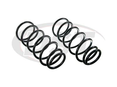 Moog Front Coil Springs and Struts for FJ Cruiser, Tacoma