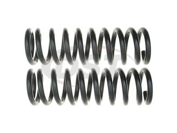 Moog-81142 Front Coil Springs - Pair - Constant Rate - 4WD