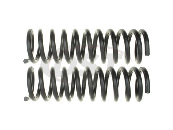 Moog-81146 Front Coil Springs - Pair - Constant Rate - RWD