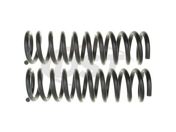 Moog-81148 Front Coil Springs - Pair - Constant Rate - RWD