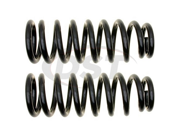 MOOG-81163 Rear Coil Springs - Pair - Constant Rate