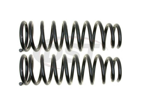MOOG-81165 Rear Coil Springs - Pair - Constant Rate