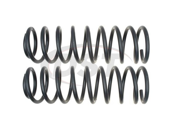 MOOG-81224 Front Coil Springs - Pair - Constant Rate - RWD - 4 Door