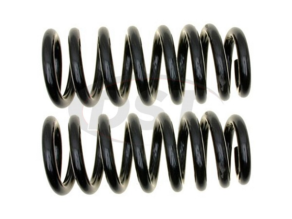 MOOG-81380 Front Coil Springs - Pair