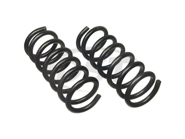 moog-81387 Rear Coil Springs - Pair