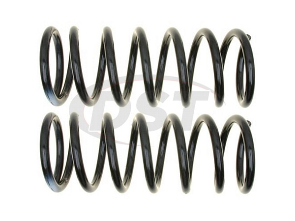 MOOG-81407 Rear Coil Springs - Pair