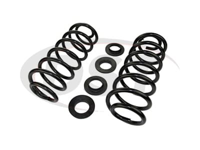 Moog Rear Coil Springs and Struts for Crown Victoria, Town Car, Grand Marquis