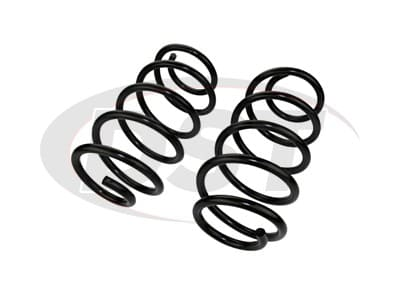 Moog Front Coil Springs and Struts for Patriot