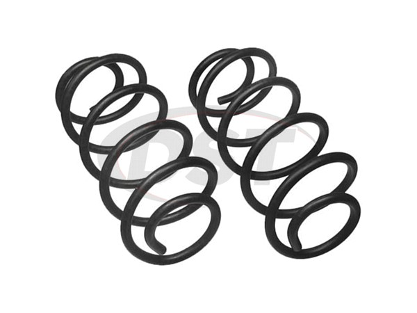 moog-81487 Rear Coil Springs - Front Wheel Drive