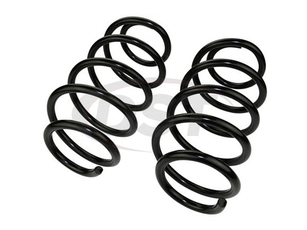 moog-81494 Front Coil Springs - Pair - Front Wheel Drive