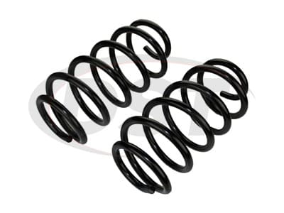 Moog Front Coil Springs and Struts for Grand Caravan, Routan