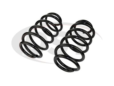 Moog Front Coil Springs and Struts for Town & Country, Grand Caravan, Routan
