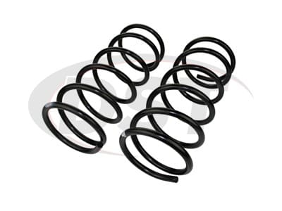 Moog Rear Coil Springs and Struts for Forester