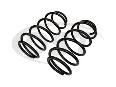 Moog Front Coil Springs and Struts for Prius, Prius Plug-In