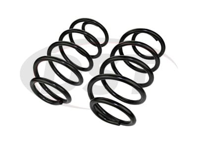 Moog Front Coil Springs and Struts for Enclave, Traverse, Acadia, Outlook