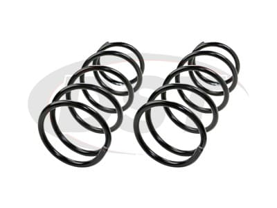 Moog Front Coil Springs and Struts for Forester