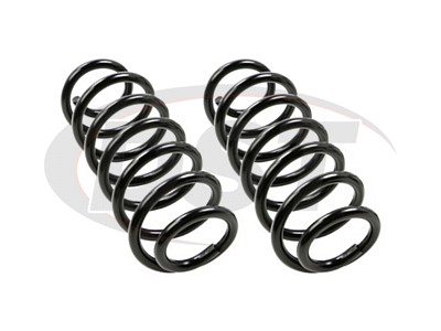 Moog Rear Coil Springs and Struts for Prius, Prius Plug-In
