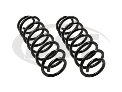 Moog Rear Coil Springs and Struts for Prius V