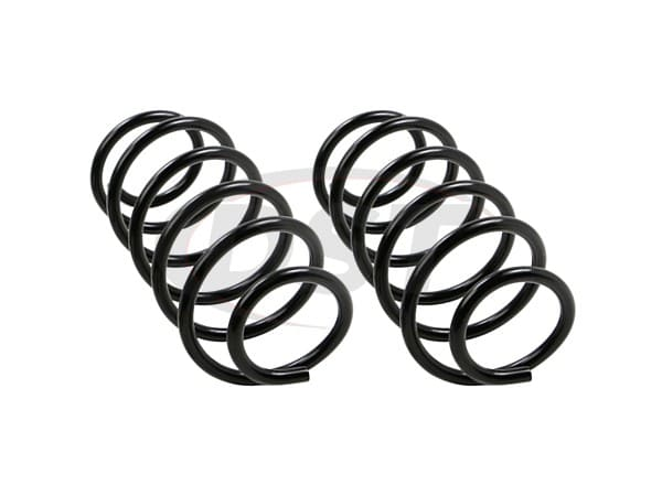 moog-81642 Rear Coil Spring Set - Non Sport Suspension