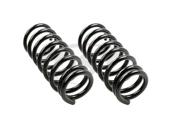 moog-81649 Rear Coil Spring Set