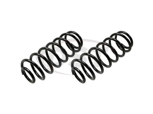 moog-81675 Rear Coil Spring Set
