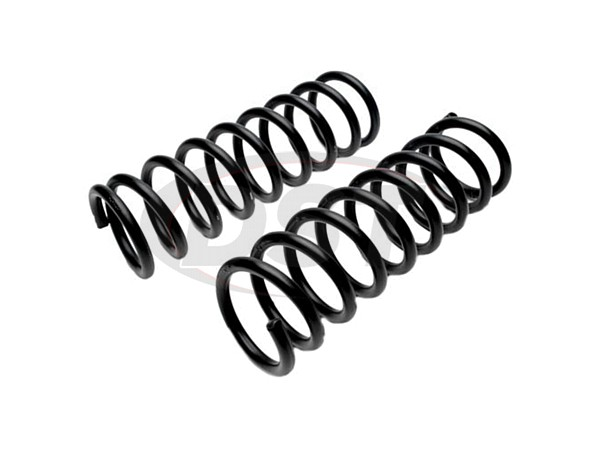 MOOG-8318 Front Coil Springs - Pair