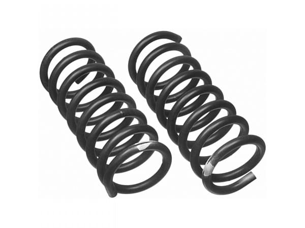 moog8542 front coil springs pair made by moog