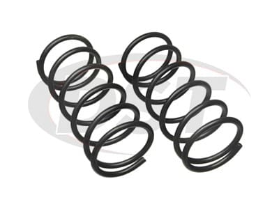 Moog Rear Coil Springs and Struts for Escort, EXP, Lynx