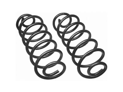 Moog Rear Coil Springs and Struts for LTD Crown Victoria, Continental, Mark VI, Town Car, Grand Marquis