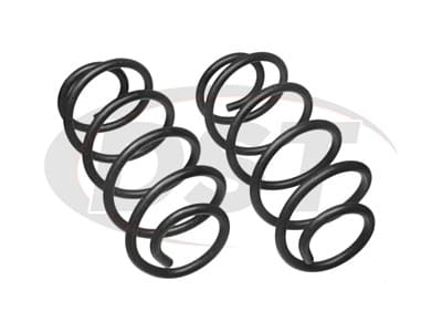 Moog Front Coil Springs and Struts for F-350