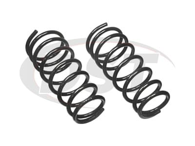 Moog Front Coil Springs and Struts for Ram 2500