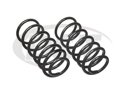 Moog Rear Coil Springs and Struts for Golf, Jetta