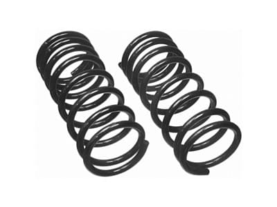 Moog Rear Coil Springs and Struts for Excel, Precis