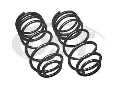 Moog Front Coil Springs and Struts for Silhouette, Trans Sport