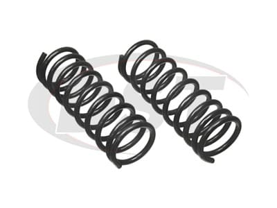 Moog Rear Coil Springs and Struts for Beretta, Corsica