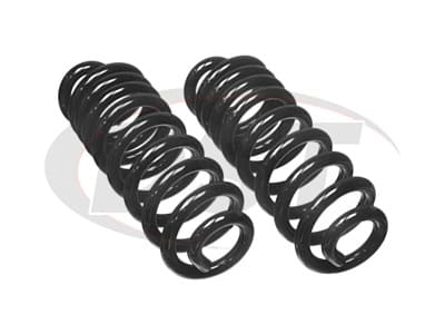 Moog Rear Coil Springs and Struts for Ranch Wagon