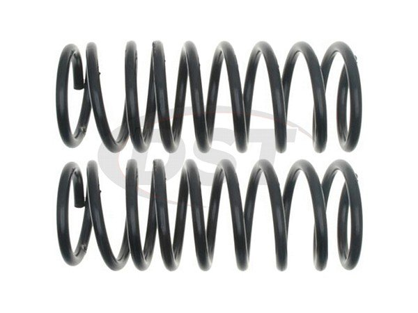 Moog-CC81031 Rear Coil Springs - Pair