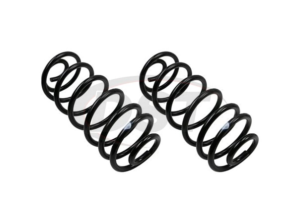 MOOG-CC81369 Rear Coil Springs - Pair