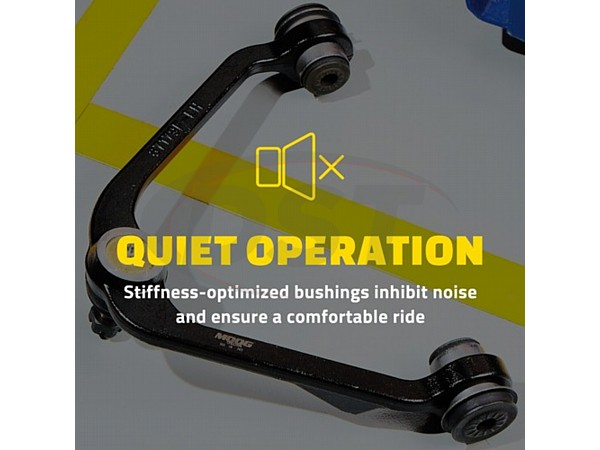 moog-ck80404 Front Lower Control Arm and Ball Joint Assembly - Driver Side - Base Payload Models
