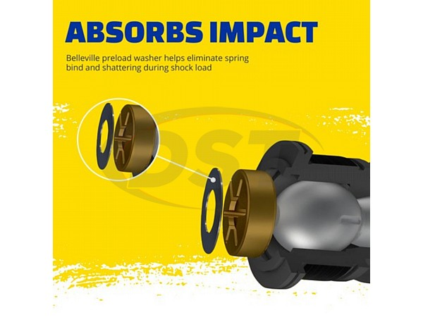 moog-ds1464 Inner Tie Rod End - At Connecting Tie Rod - 1st design