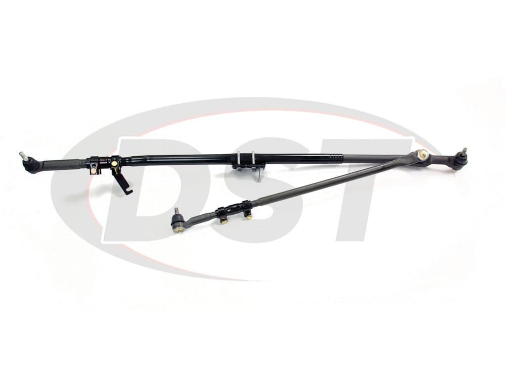 XRF Inner Outer Tie Rod Drag Link STEERING KIT Dodge RAM 2500 3500 HD 03-07 4x4