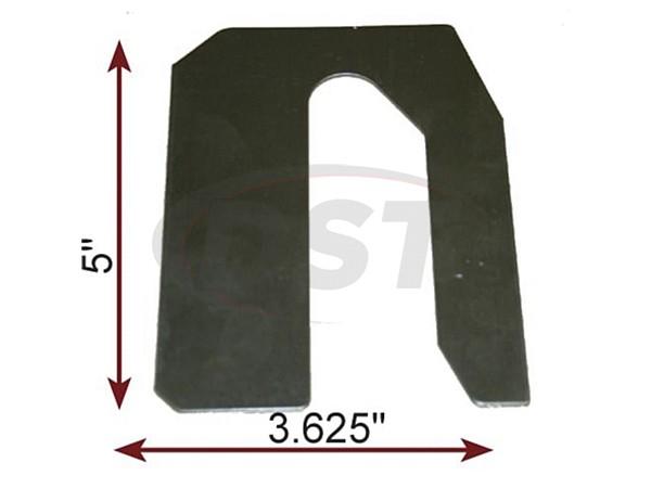 MOOG-K100074 Caster Shim 1/32 Inch