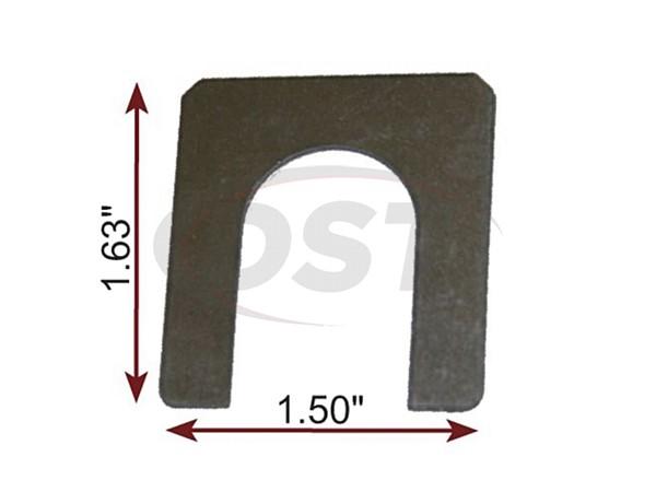 MOOG-K100077 Caster Shim 1/32 Inch