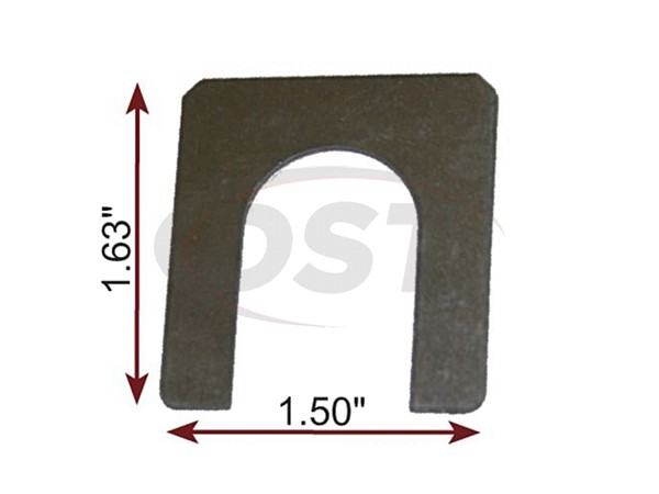 MOOG-K100079 Caster Shim 1/8 Inch
