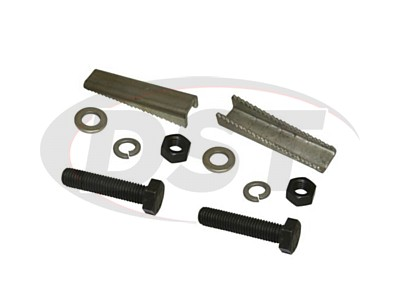 Front Lower Strut Mount Camber Wedge Kit