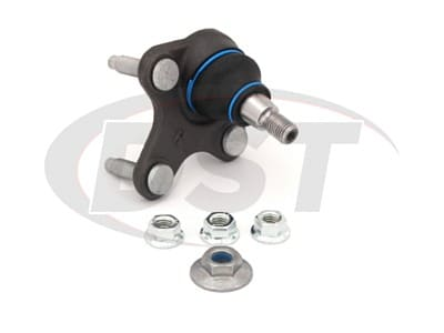 Moog Front Lower Ball Joints for A3, A3 Quattro, A3 Sportback e-tron, S3, CC, GTI, Passat