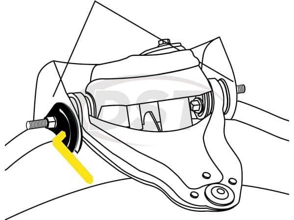 MOOG-K6721 Front Alignment Camber Kit