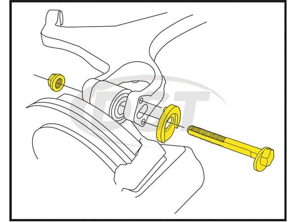 MOOG-K80064 Rear Camber Adjustment Kit