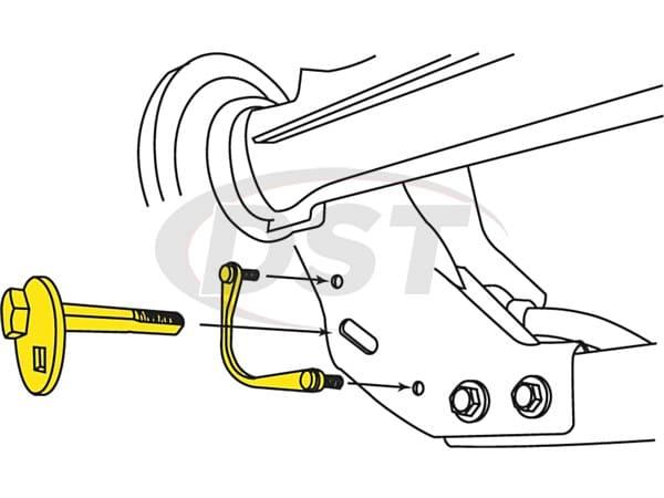 MOOG-K80069 Front Camber Adjustment Kit